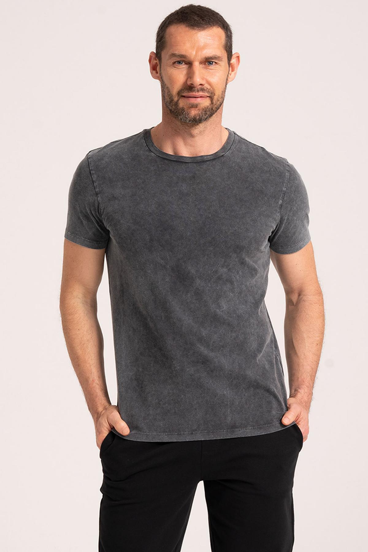 Vintage Effect T-Shirt newces-5010-BV