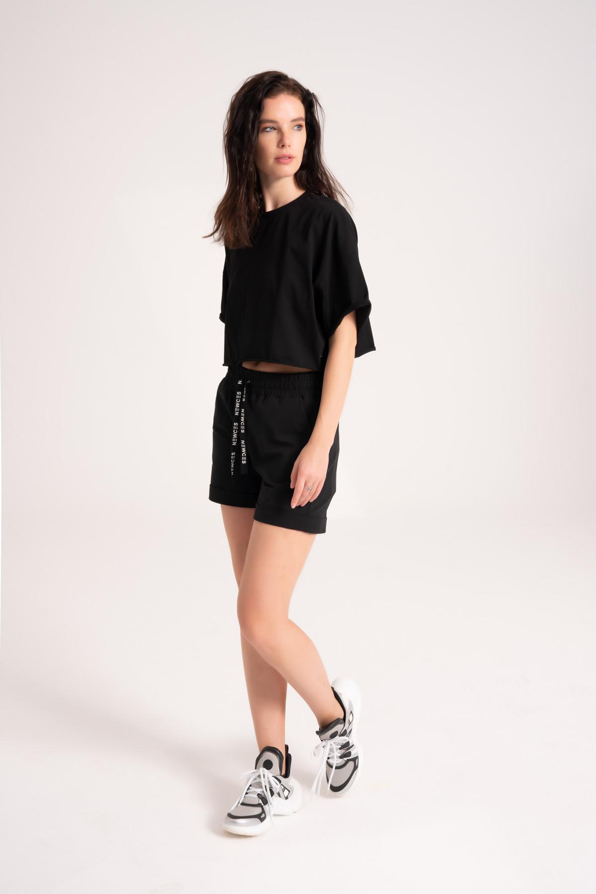 95% Cotton Shorts Womens newces-1005-B