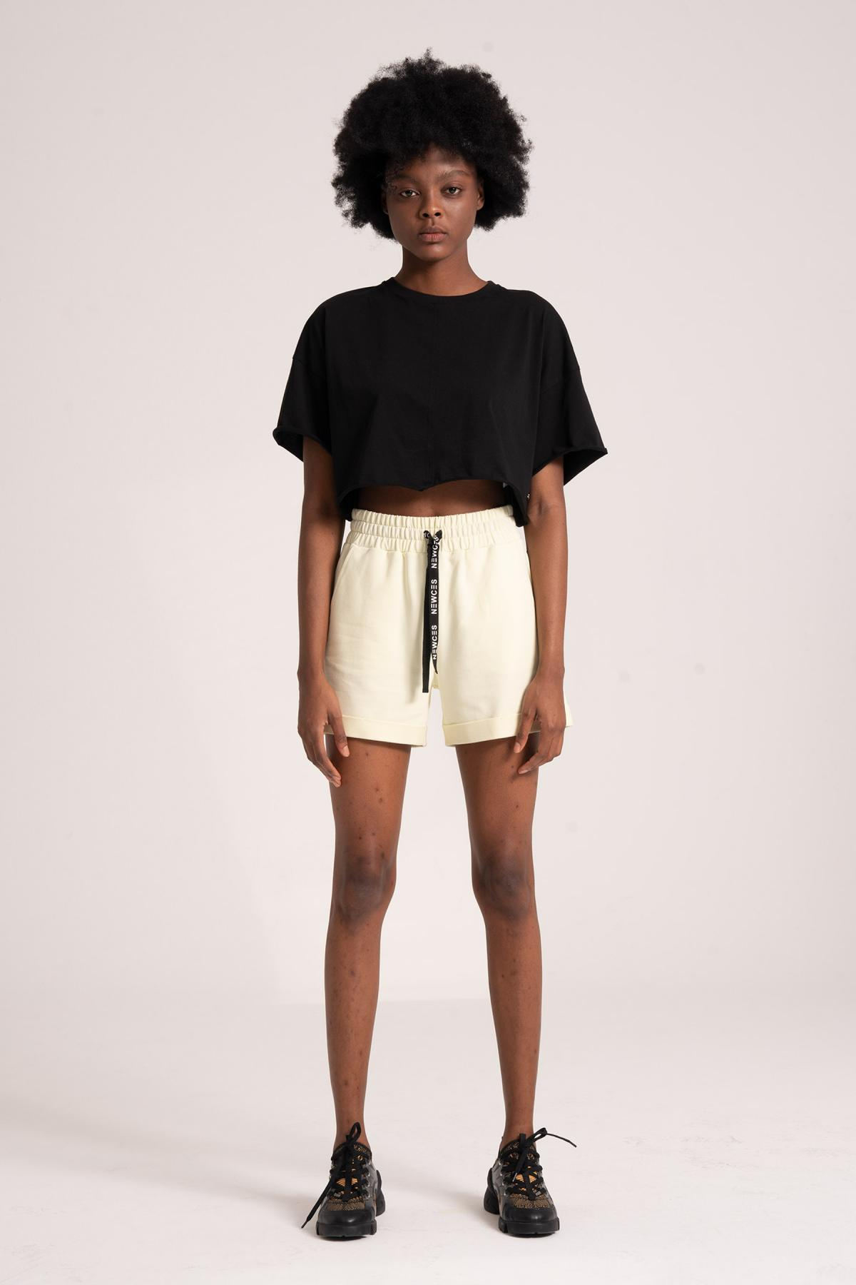 95% Cotton Women's Shorts newces-1005-Y