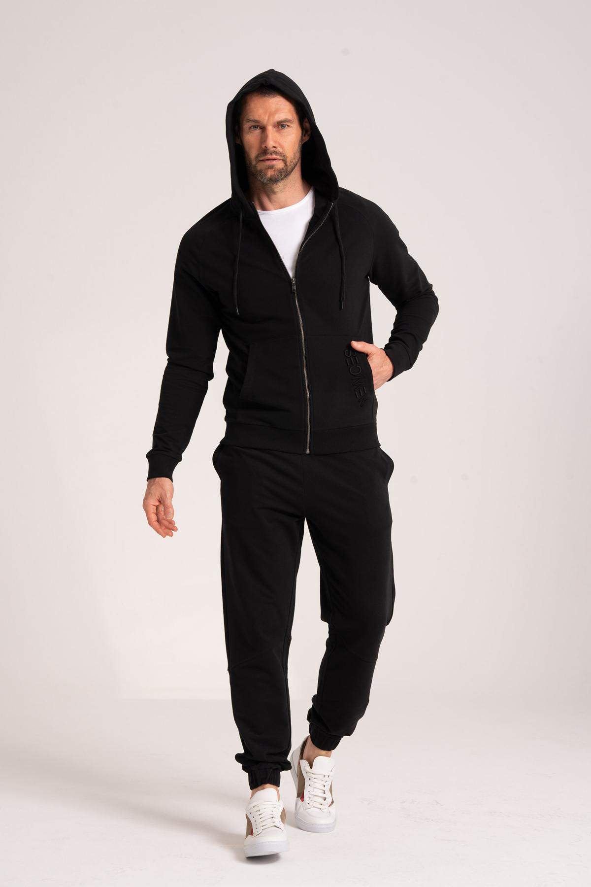 Zippered Sweatshirt newces-5009-B