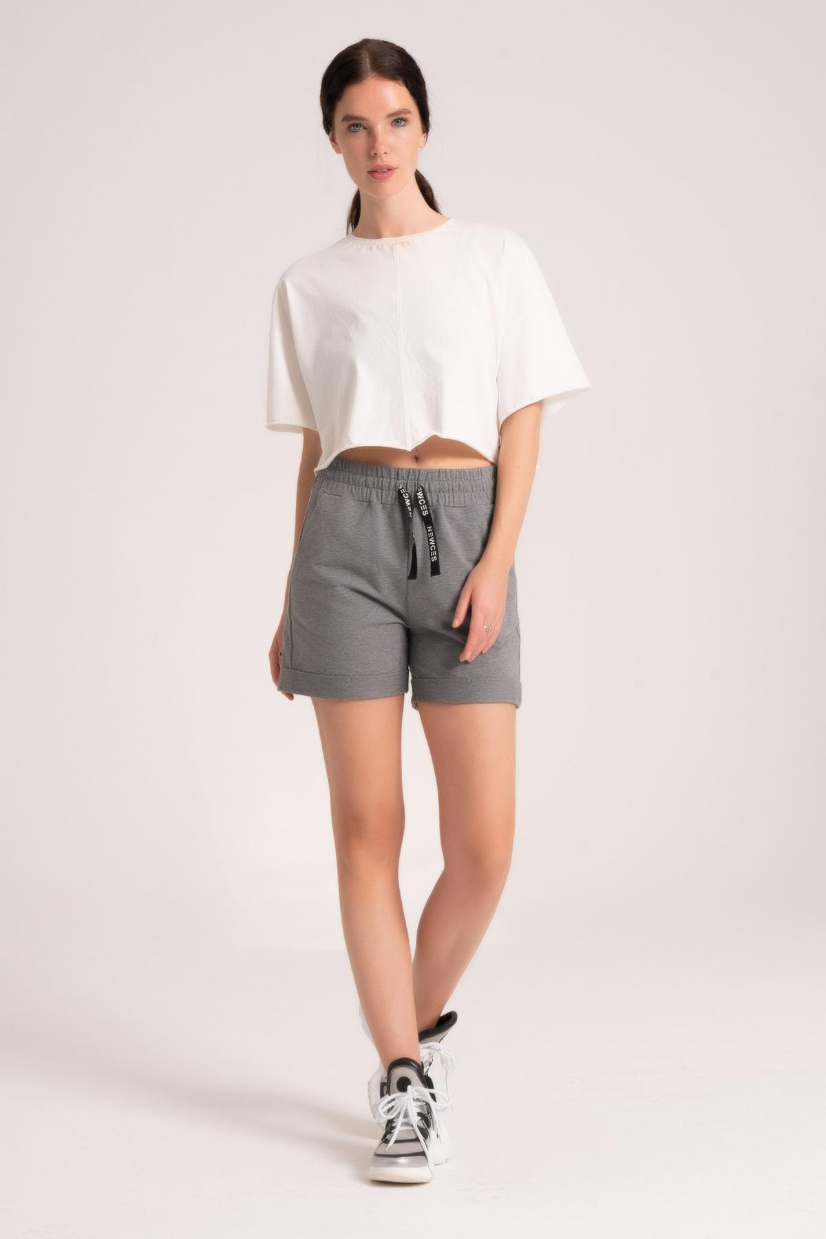 Comfortable Fit Shorts Women newces-1005-AN