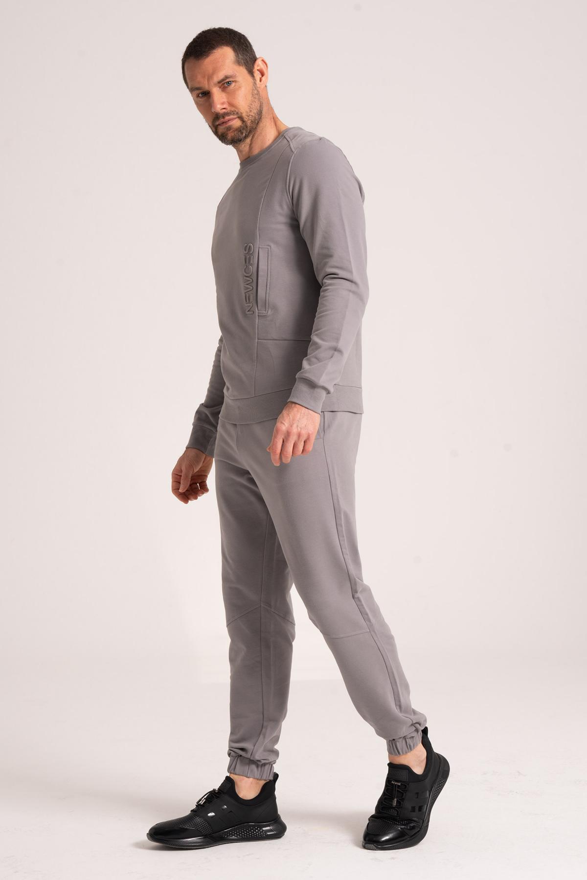 95% Cotton Sweatshirt newces-5013-G