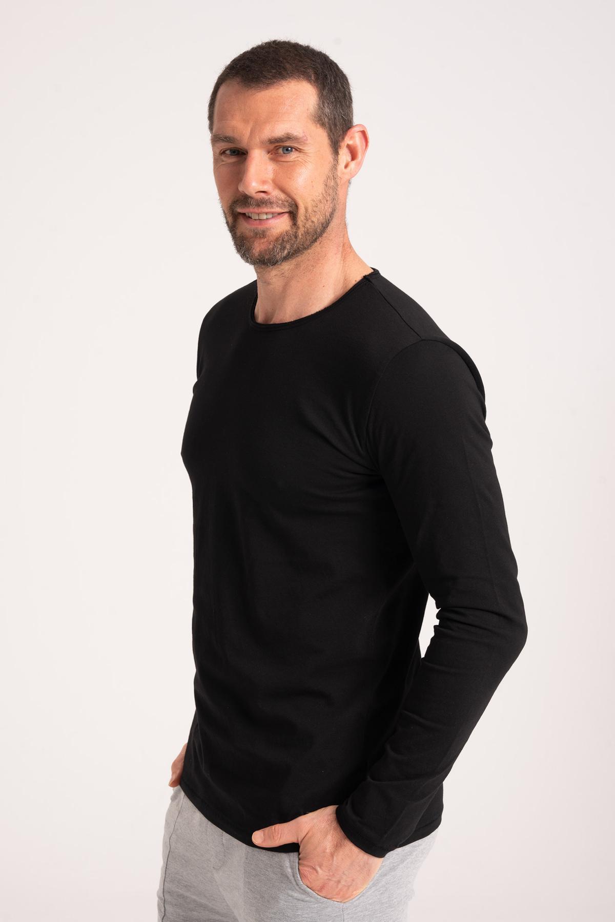Round Neck T-Shirt 100% Cotton newces-5005-B