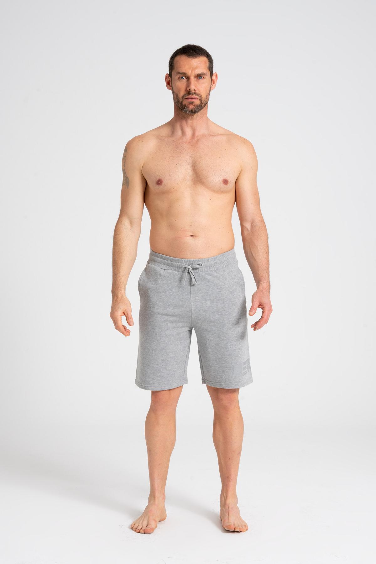 Normal Fit Men's Shorts newces-5011-GM