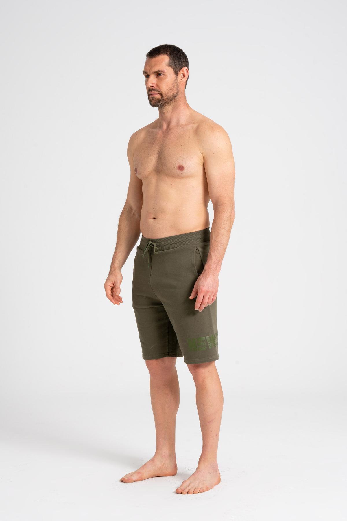 Men's Shorts 100% Cotton newces-5011-MG