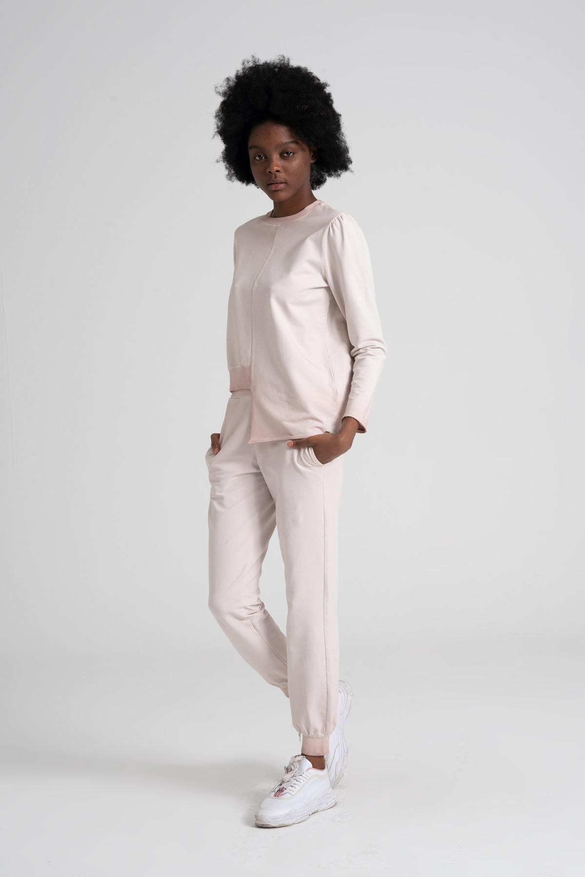 Vintage Effect 95% Cotton Sweatshirt newces-1031-VR